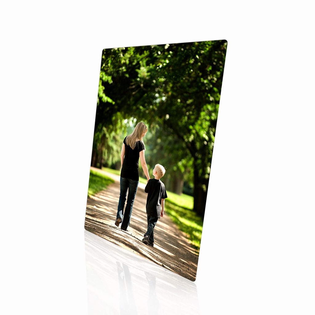 Metal Print With Easel 01