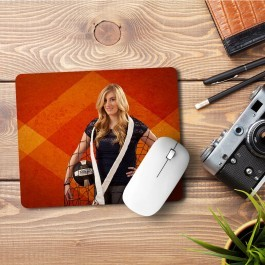 Mouse Pad Sport Girl