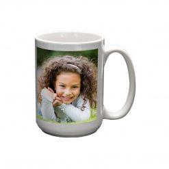 Mug 15oz Girl Smiling
