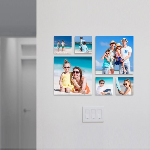 Collagewall Layout 030 Family Beach