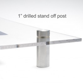 1inch Drilled Stand Off Post