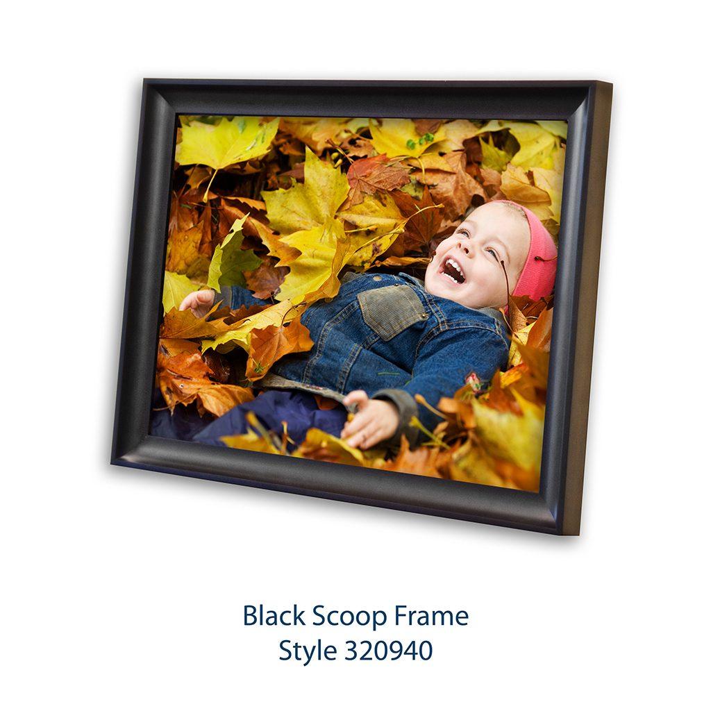 Black Scoop Frame Style 320940