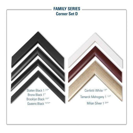 Family Frames Corner Set D