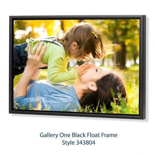 Gallery One Black Float FrameStyle 343804 Copy