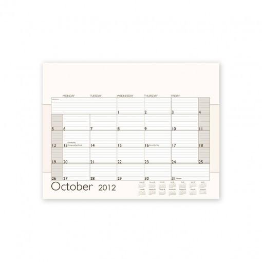 Custom Desk Calendar