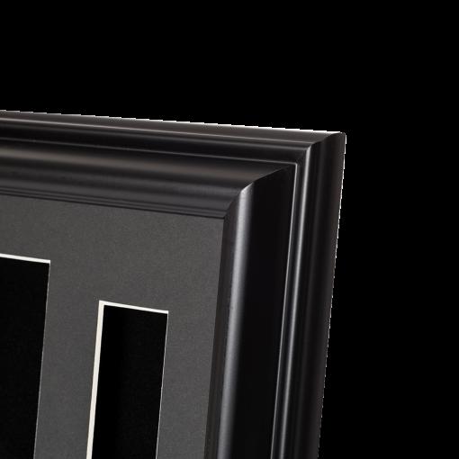 360 Black Tassel Frame Corner detail