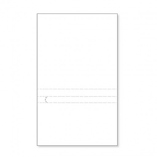 Blank Prepay Flyer 5 inches Pocket Specs MP961