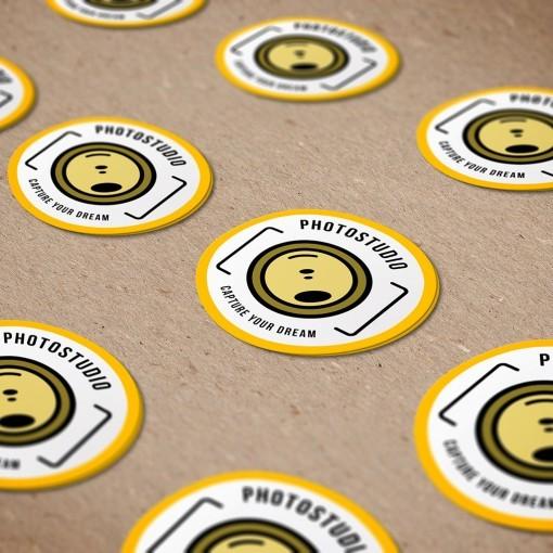 Die Cut Stickers PhotoStudio