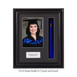 Graduation Tassel 9x11 Frame with 5x7 Print