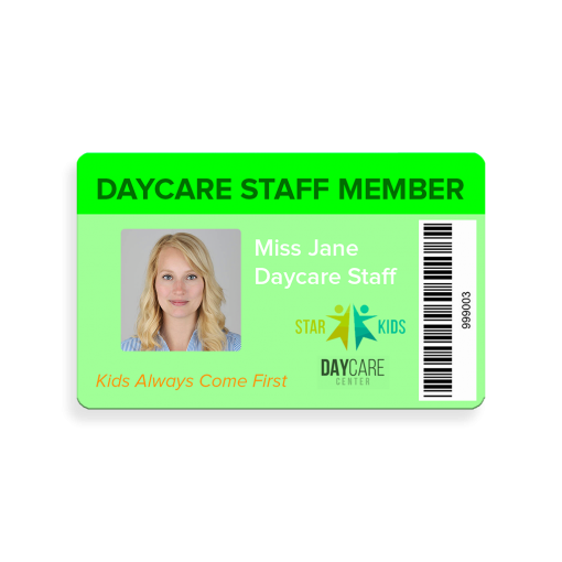 ID Card Not Punched Daycare