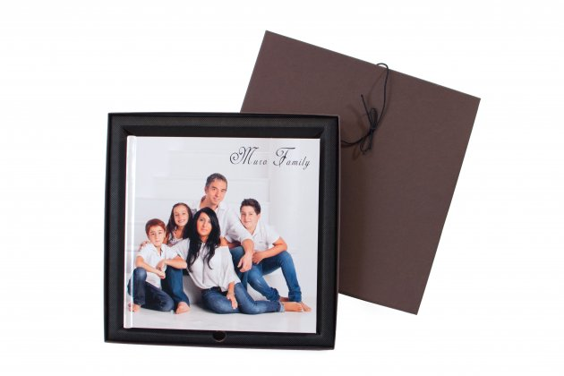 Hard Cover Photo Book with case