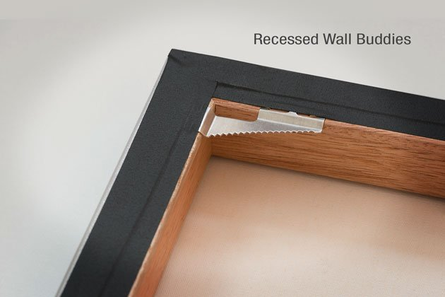 Recessed WallBuddies