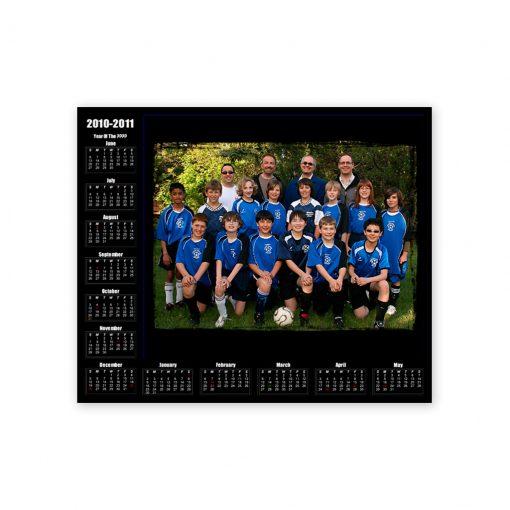 Calendar Metallic 01