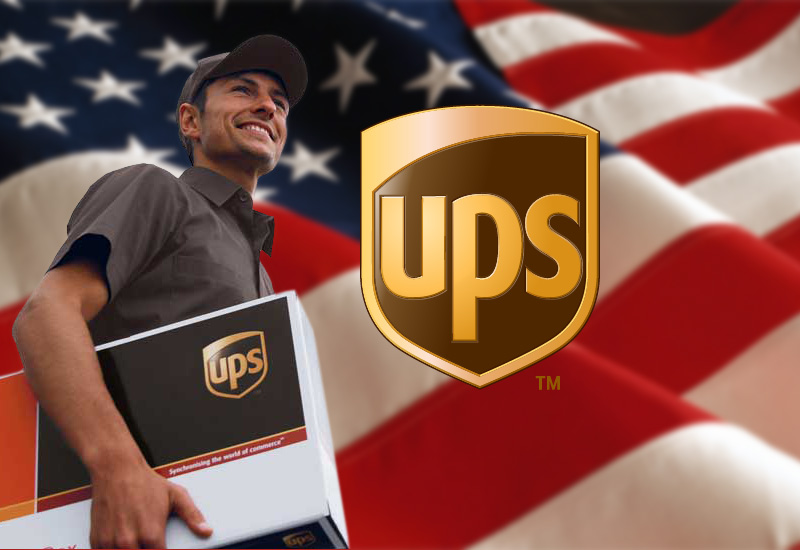 US UPS Shipping Employee Parcel