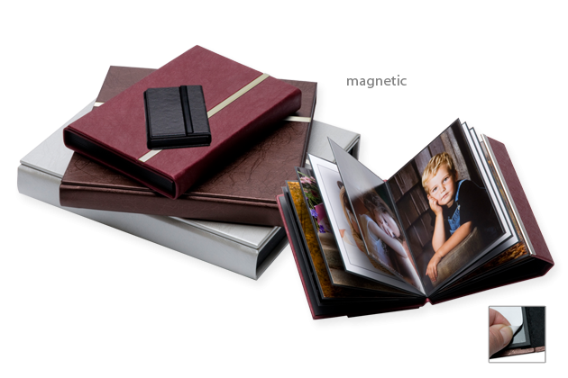 Magnetic self-adhesive albums picture