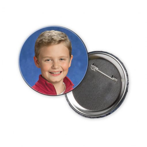 3 Inch Photo Button