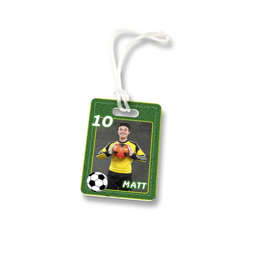 Bag Tag Large Soccer Matt