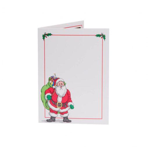 Santa Folder Front
