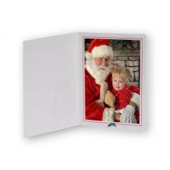 Santa Folder Inside