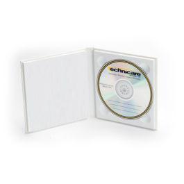 Topflight CD DVD Album White Embossed 02
