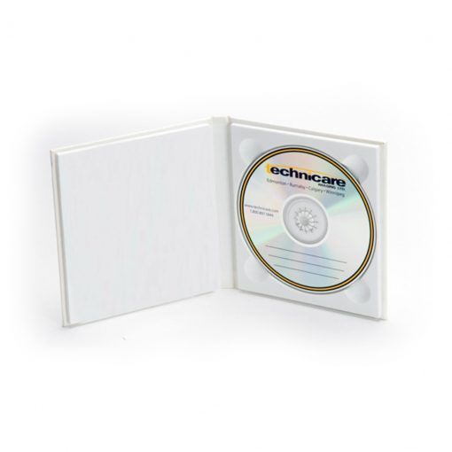 Topflight CD DVD Album White Embossed 02