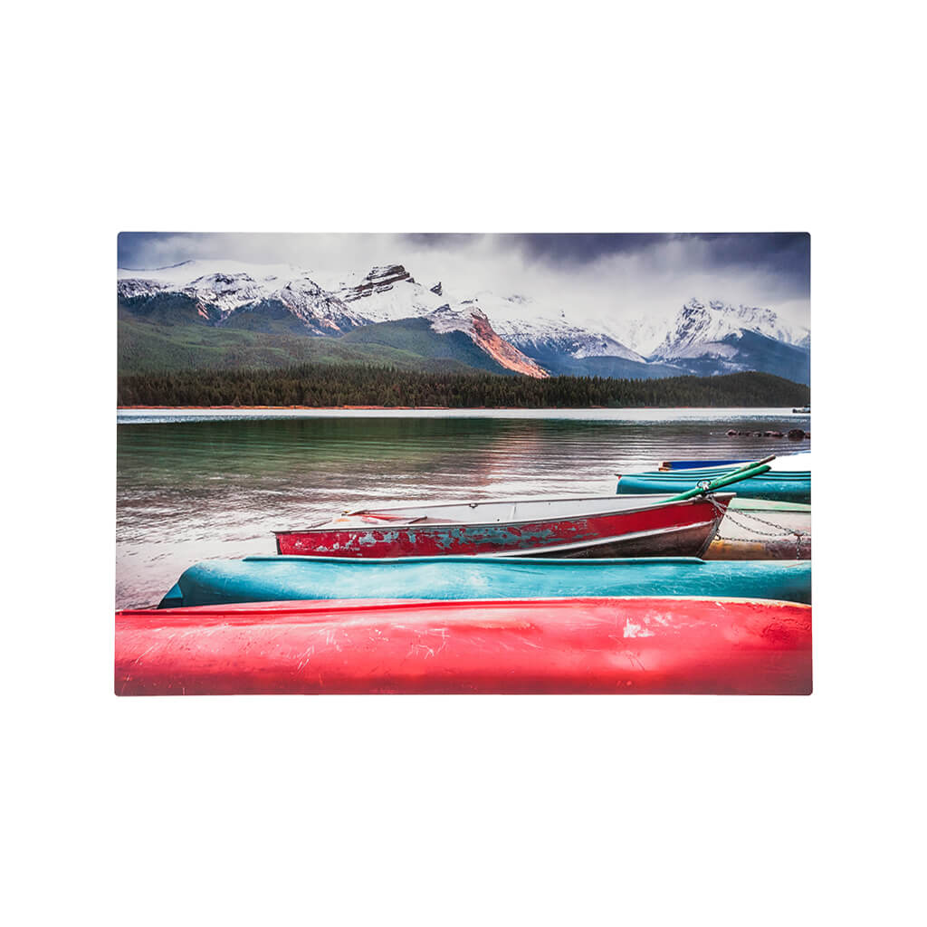 Wall Art Metal Print Lake
