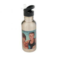 Water Bottle Silver