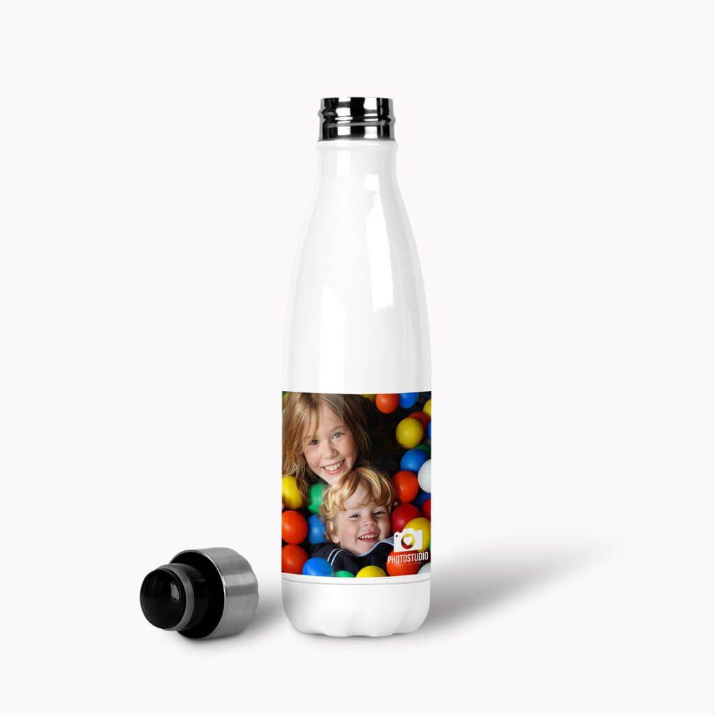 White Cola Bottle Lid Off